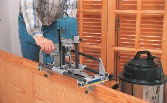 Система для виробництва коротких серій дверей і вікон – фрезер для замків Virutex FC 116U